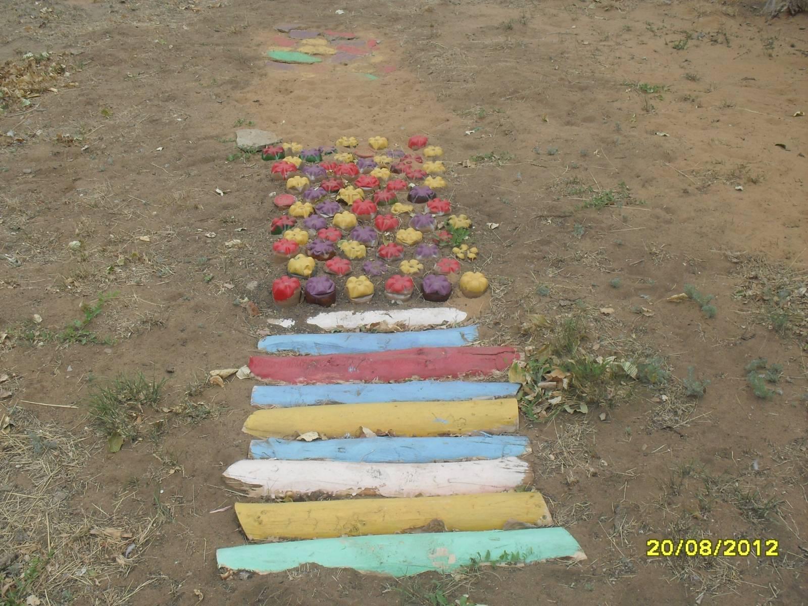 Оздоровительные дорожки в детском саду своими руками на участке